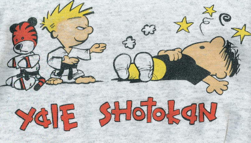 Yale Shotokan Calvin and Hobbes
