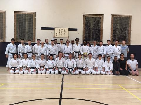 Fall 2018 Guest Instructors Class Photo