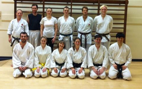 Yale Shotokan Karate Spring 2014