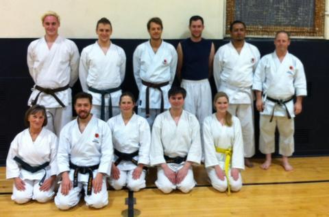 Yale Shotokan Karate Winter 2014