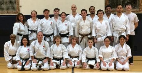 Yale Shotokan Karate Winter 2015