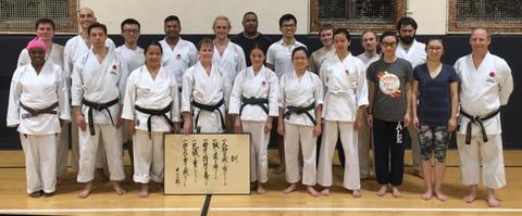 Yale Shotokan Karate Winter 2016
