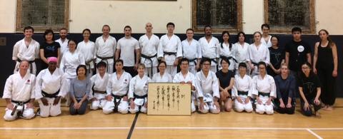 Yale Shotokan Karate Winter 2017