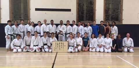 Yale Shotokan Karate Winter 2018