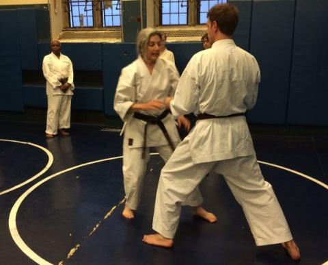 Yale Shotokan Karate Practice